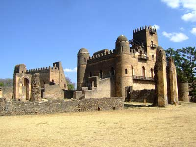 Gondar, located north of Lake Tana in northern 