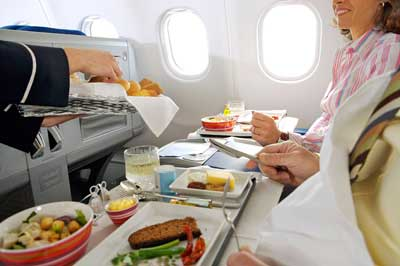 In-flight food service