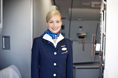 Finnair flight attendant